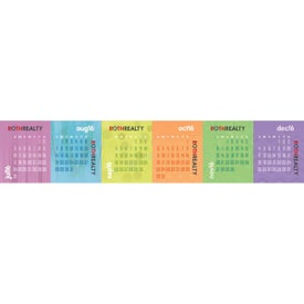 Printed Accordion Desk Calendar