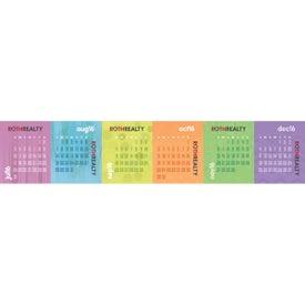 Printed Accordion Desk Calendar