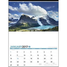 Advertising Across Canada Calendar