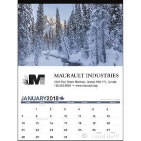 Across Canada Calendar for Customization