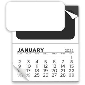 12 Month Magnetic Calendar Pad