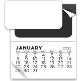 12 Month Magnetic Calendar Pad