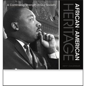 Promotional African-American Heritage Calendar