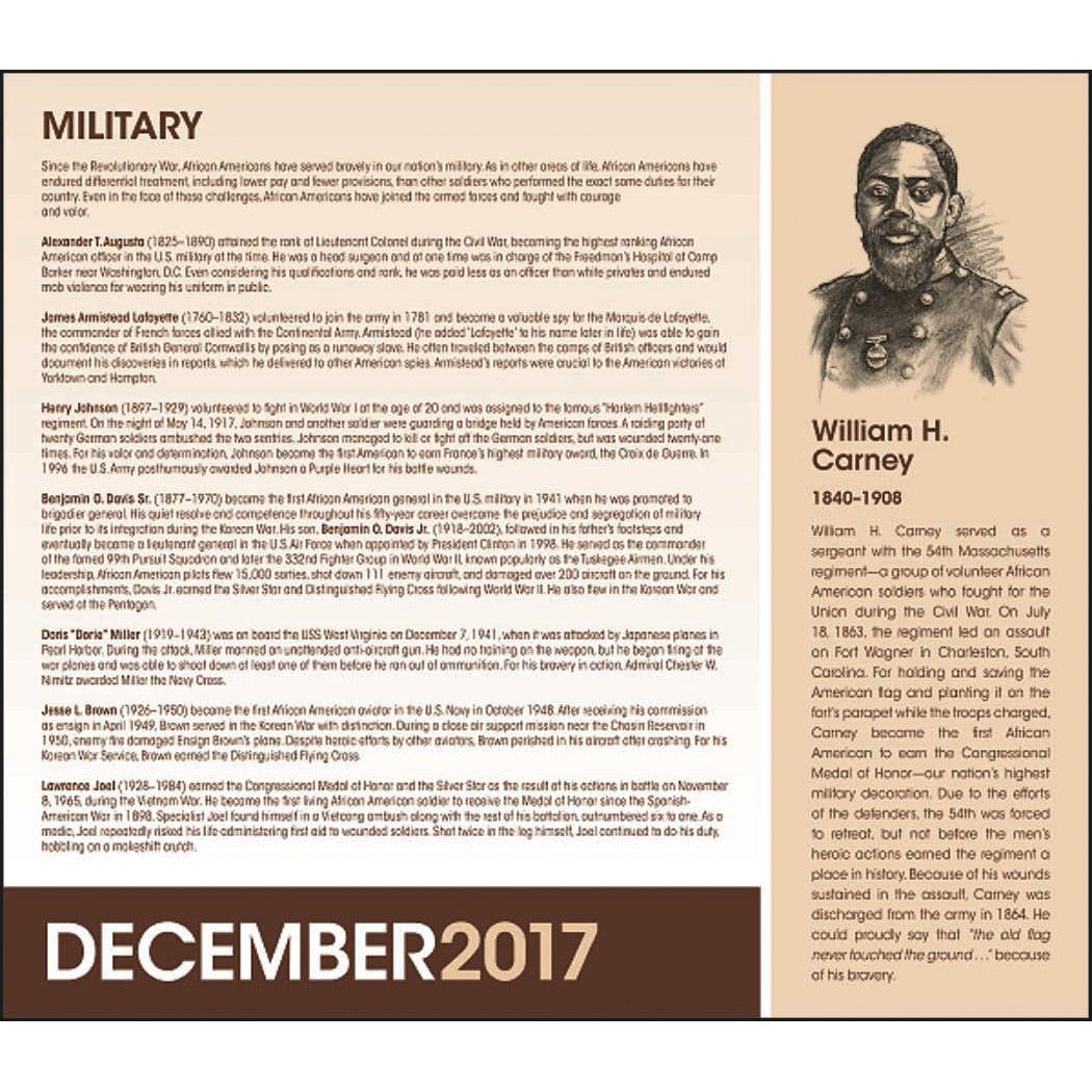 african american heritage calendar mlk jr 2017 custom calendars