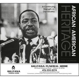 African-American Heritage Calendar (MLK Jr., 2020)
