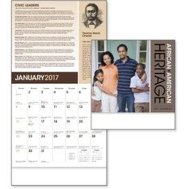Advertising African-American Heritage Calendar