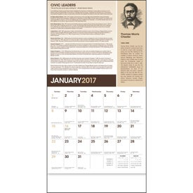 African-American Heritage Calendar with Your Logo