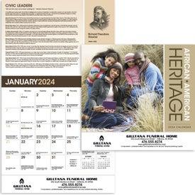 African-American Heritage Calendar (Family, 2020)