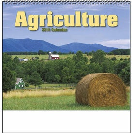 Agriculture Spiral Calendar for Advertising
