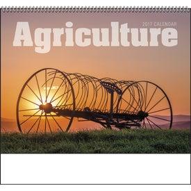 Agriculture Spiral Calendar for Advertising
