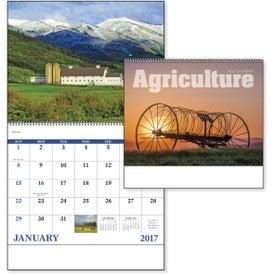 Logo Agriculture Spiral Calendar