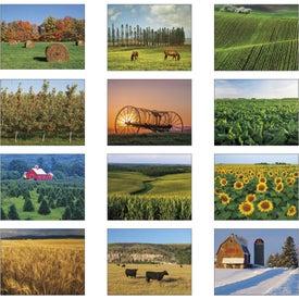 Agriculture Stapled Calendar for Advertising