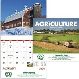 Agriculture Stapled Calendar (2020)