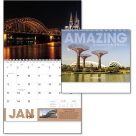 Customized Amazing Accomplishments of Mankind Calendar