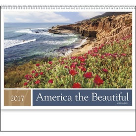 America the Beautiful with Recipes Calendar Branded with Your Logo