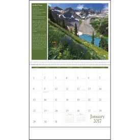 America the Beautiful with Recipes Calendar with Your Logo