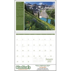 Promotional America the Beautiful with Recipes Calendar