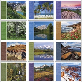 Customized America the Beautiful with Recipes Calendar
