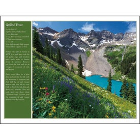 Custom America the Beautiful with Recipes Calendar