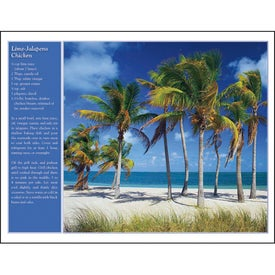 America the Beautiful with Recipes Calendar for Customization
