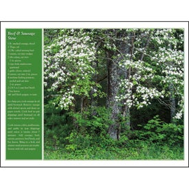 Printed America the Beautiful with Recipes Calendar