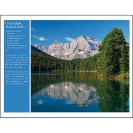 America the Beautiful with Recipes Calendar for Promotion