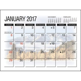 Customized America's Beauty Desk Calendar