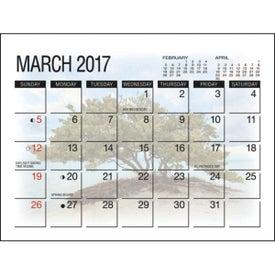 America's Beauty Desk Calendar for Customization