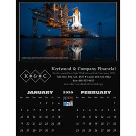 Personalized America in Space Executive Calendar