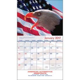 Branded America Wall Calendar