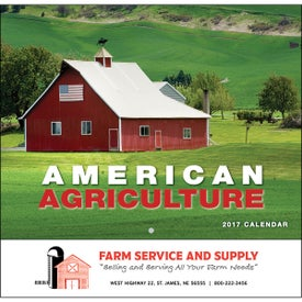 American Agriculture Wall Calendar (Stapled)