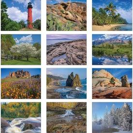 Company American Scenic Wall Calendar