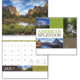 Advertising American Splendor Large Wall Calendar