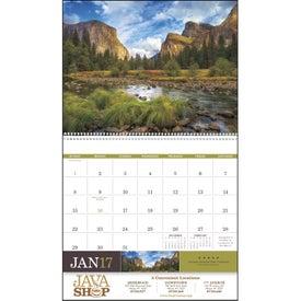 Advertising American Splendor Large Wall Calendar