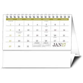 Personalized American Splendor Desk Calendar