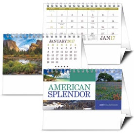 American Splendor Desk Calendar Branded with Your Logo