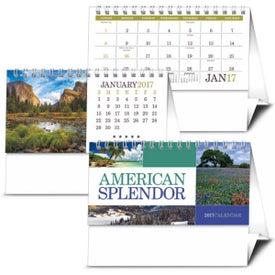 American Splendor Desk Calendar Branded with Your Logo