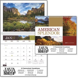 American Splendor Pocket Calendar for Promotion