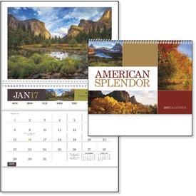 Custom American Splendor Pocket Calendar