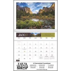 American Splendor Pocket Calendar Branded with Your Logo