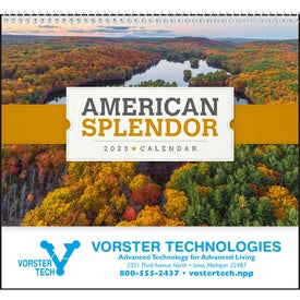 Company American Splendor Pocket Calendar