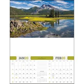 American Splendor Large Executive Calendar (2020)
