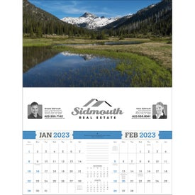 Custom American Splendor Large Executive Calendar