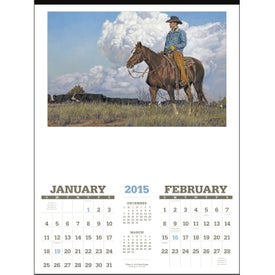 American West Executive Calendar by Tim Cox for your School