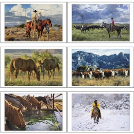 Promotional American West Executive Calendar by Tim Cox