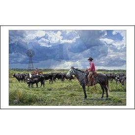 Printed American West Executive Calendar by Tim Cox
