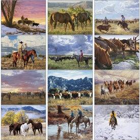 Custom American West by Tim Cox Wall Calendar