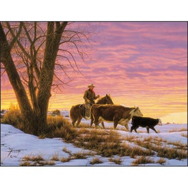 Printed American West by Tim Cox Wall Calendar