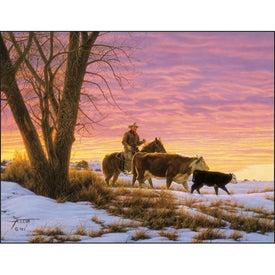 Printed American West by Tim Cox Wall Calendar