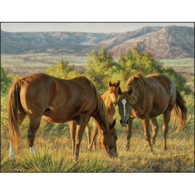 American West by Tim Cox Wall Calendar Imprinted with Your Logo